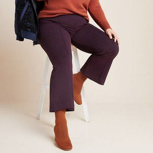 Anthropologie The Essential Crop Flare Pants Sz 2X